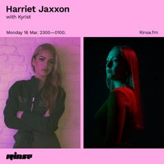 Harriet Jaxxon with Kyrist - 16 March 2020
