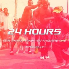 Kofi Jamar, Yaw Tog x Headie One - 24 Hrs 141 bpm (GHANAIAN DRILL BEAT) PROD BY. CMINUSPRODUCTIONS