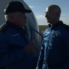 William Shatner moved by voyage on Blue Origin