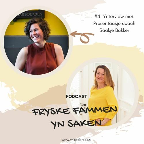 Interview mei Saakje Bakker, Presentaasje coach en improvisator