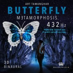 ButterFly Metamorphosis Binaural 3D Persian Setar and Piano Improvisations in 432Hz