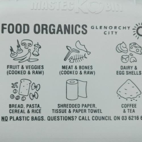 Glenorchy City Council's Food Organic Garden Organic (FOGO) Bins