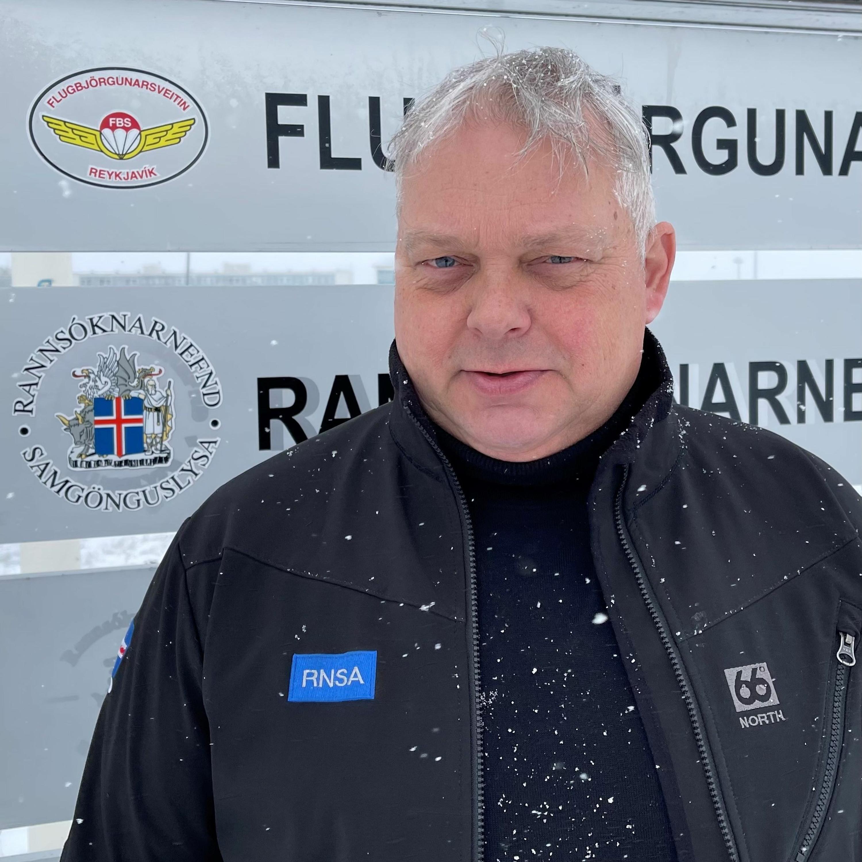 #26 – Allt um rannsóknir flugslysa – Þorkell Ágústsson hjá RNSA