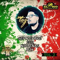 Dj Taz - Norteñas con Sax Mix Lo + Nuevo Sept 2021 (Vol 2)