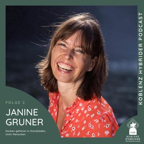 Folge 2 mit Janine Gruner - Socken gehören in Schubladen, keine Menschen
