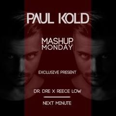 Dr. Dre x Reece Low - Next Minute (Paul Kold Mashup)(Free Download)