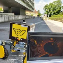 Lieferroboter für JKU Campus