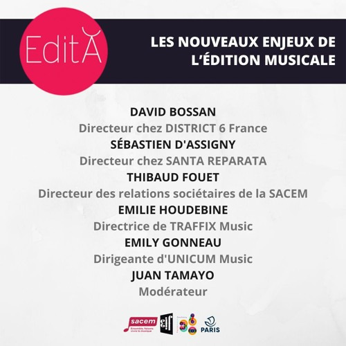 Conférence Edition - Edita #6