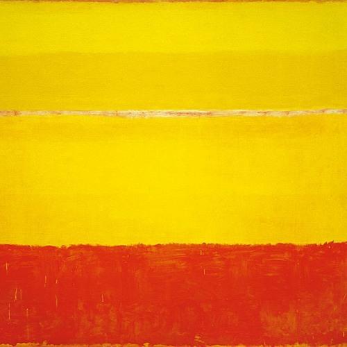 602. Mark Rothko. Sin título, 1952-53