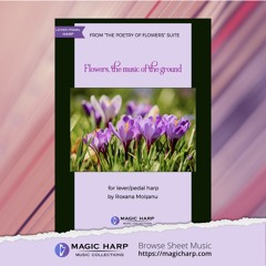 Flowers, the music of the ground
