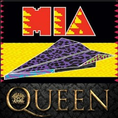 Queen Vs. M.I.A. - Fat Bottom Planes (Wick - It Mashup) (DJ Edit with Intro/Outro Drums)