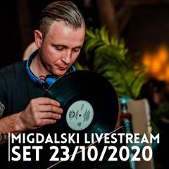 Migdalski Livestream set 23/10/2020