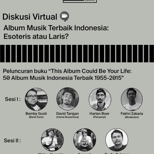 """Diskusi Virtual """"This Album Could Be Your Life"""""""