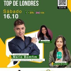 TopDeLondres Laura Arruda Com Susy Shikoda E Mario Bomfim 16 - 10 - 2021