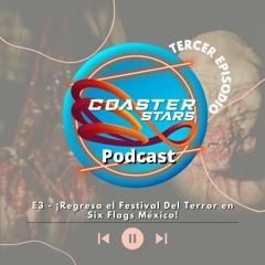 E3 - ¡Regresa el Festival Del Terror en Six Flags México!