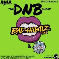 Bad Habitz & MC Frost - Dash Radio - Mr Deeds DNB Show