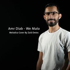 Amr Diab - We Malo | Instrumental - عمرو دياب - وماله | موسيقى على آلة الميلوديكا