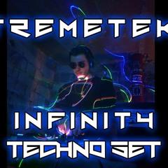 XTREMETEKK Infinity Techno Set (145 BPM) 31.01.2021