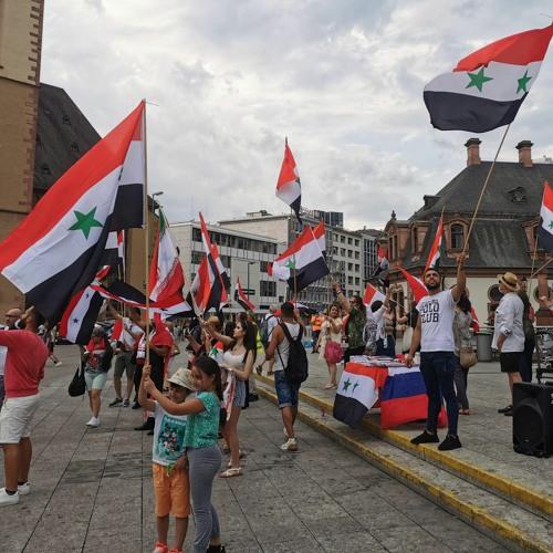 Protest gegen Sanktionen