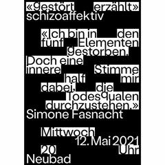 200512 «GESTÖRT ERZÄHLT»: SCHIZOAFFEKTIV