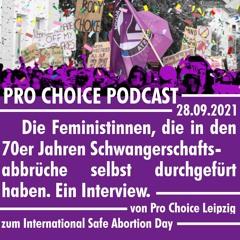 Pro Choice Podcast - Selbstorganisierte Schwangerschaftsabbrüche in den 70er Jahren