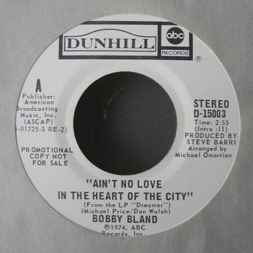 Bobby Bland - Ain`t no Love (Pistolpuma Remix)