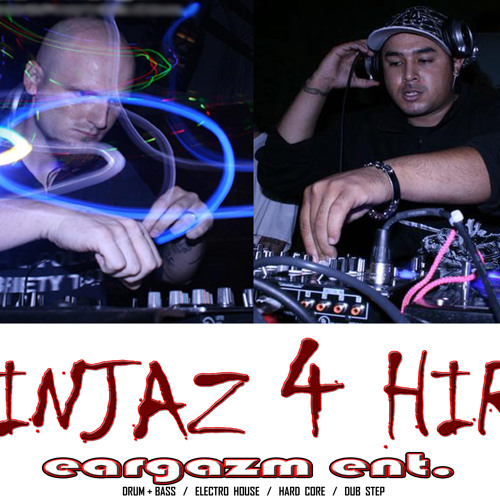 """""""IT'S A HARD CORE JUNGLE OUT THERE"""" Drum & Bass / Hard Core mixed & produced by MP-5 & RHOMP KING from NINJAZ 4 HIRE (Eargazm Entertainment)"""