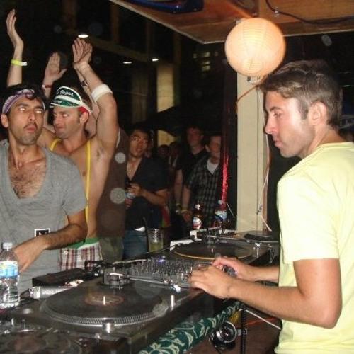 Lee Burridge and Mike Khoury B2B - Live at Varsity Allstars (BPM Festival 2011) Part 2