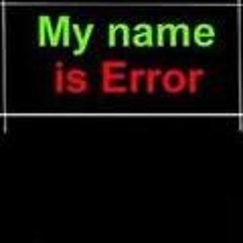 My Name is Error's avatar