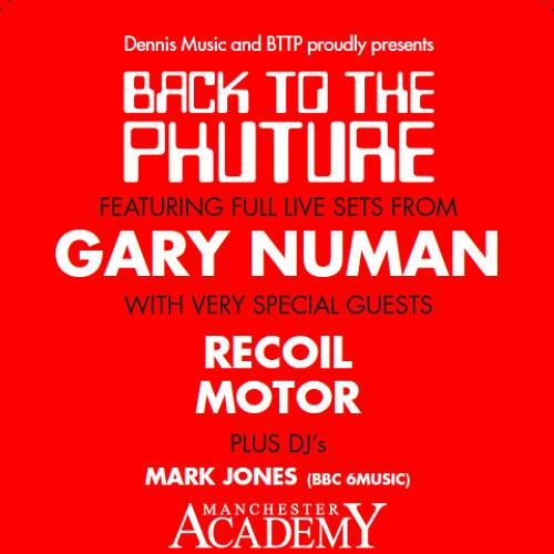 Gary Numan-  Scanner - Chorus Vocal