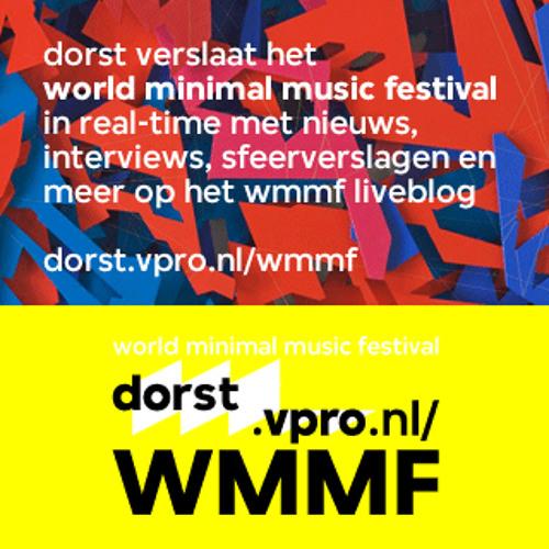 Reinier Klok DJ set Live at Muziekgebouw aan het IJ for WMMF