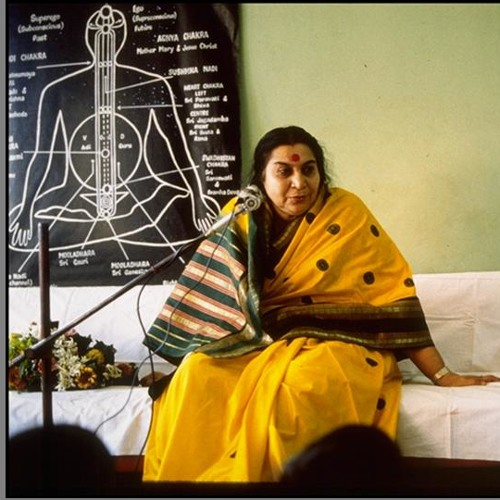 1977-0219 Shri Mataji with new Sahaja Yogis (Hindi part)