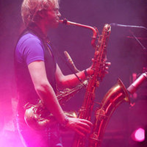 Great gig on the sax