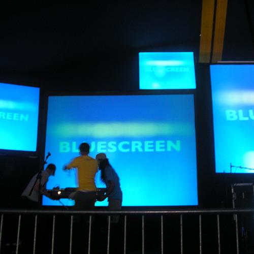 Bluescreen on BCFM 120311