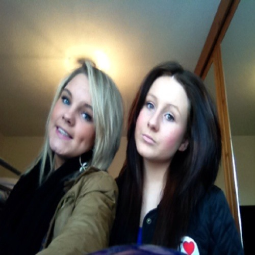Me and Abbie singing firework