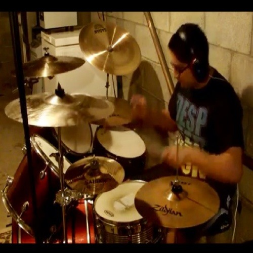 Veil of Maya- The Glass Slide (Drum Cover)