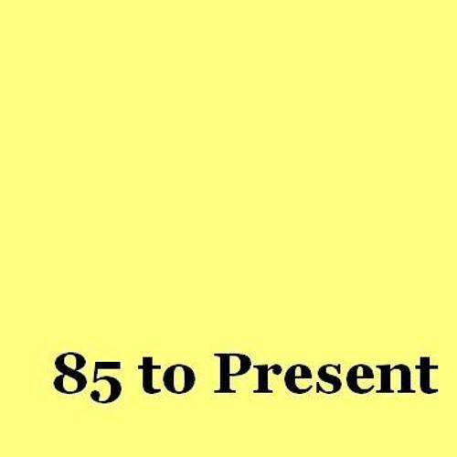 85 to Present's avatar