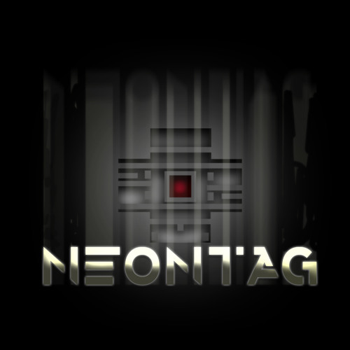 Bouncing red dog - Neontag