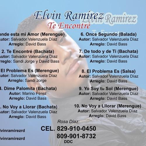 10 elvin ramirez no voy a llorar version (merengue)