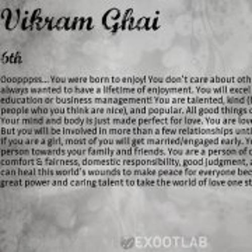 Vikram Ghai 2's avatar