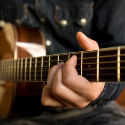 Blues improvisation in E minor