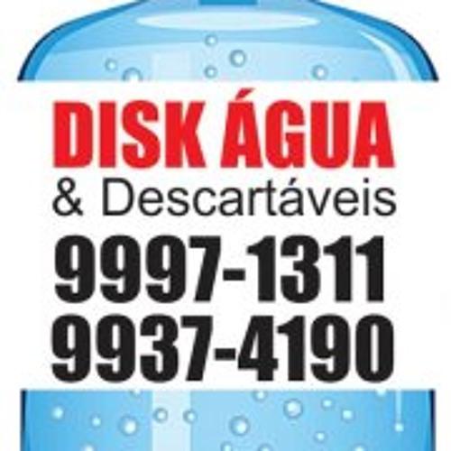 Vinheta Disk Água