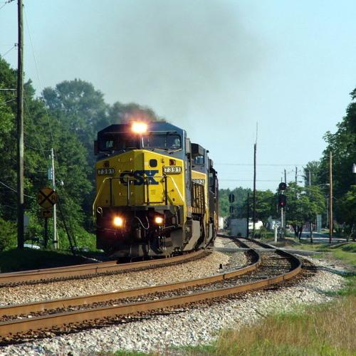 C&O 614 Ridgewood Departure and fast running