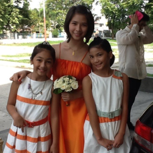 Payphone with Ate :)