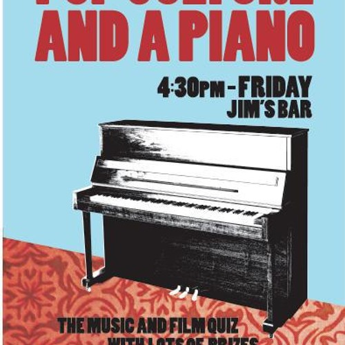 Pop Culture and a Piano's avatar