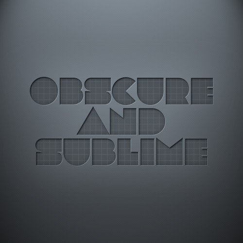Obscure & Sublime's avatar