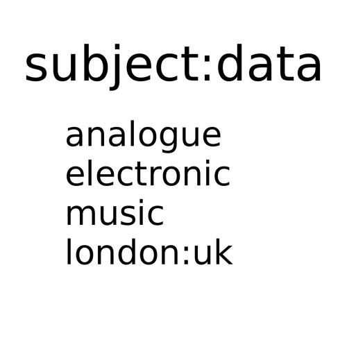 subject:data's avatar