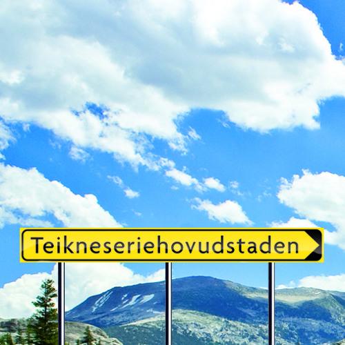 Teikneseriehovudstadens reisebrev: Oslo 24 hour challenge på Serieteket (del 1)