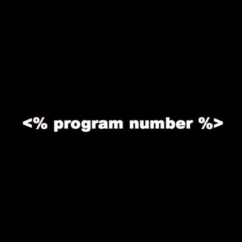 Program Number's avatar