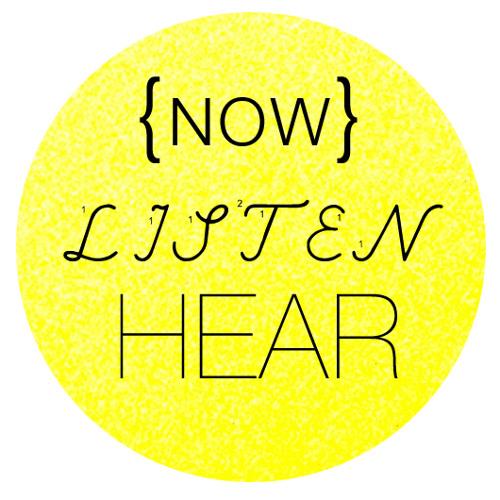 Now Listen Hear's avatar